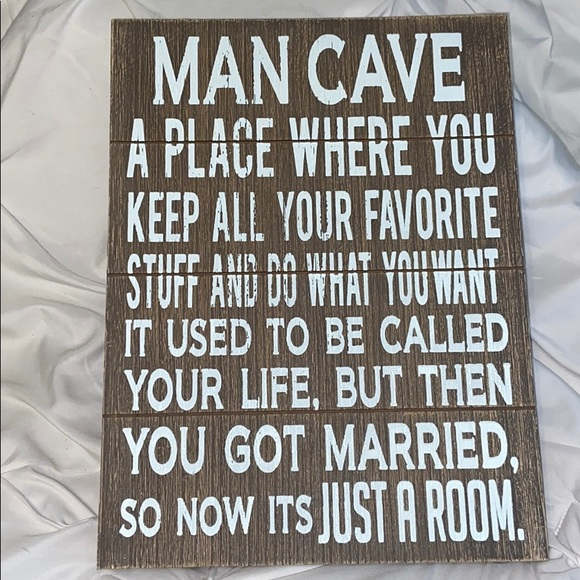 Hobby Lobby Other - Man Cave Married Sign New Unused